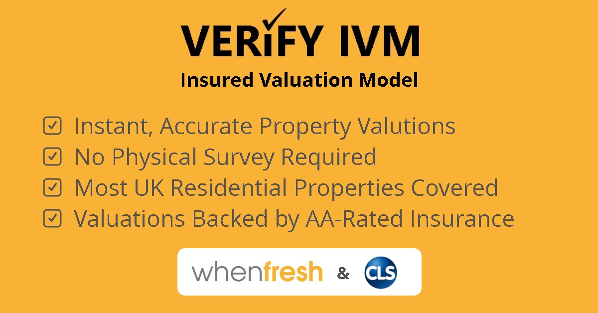 VERIFY IVM Insured Valuation Model for Residential Properties