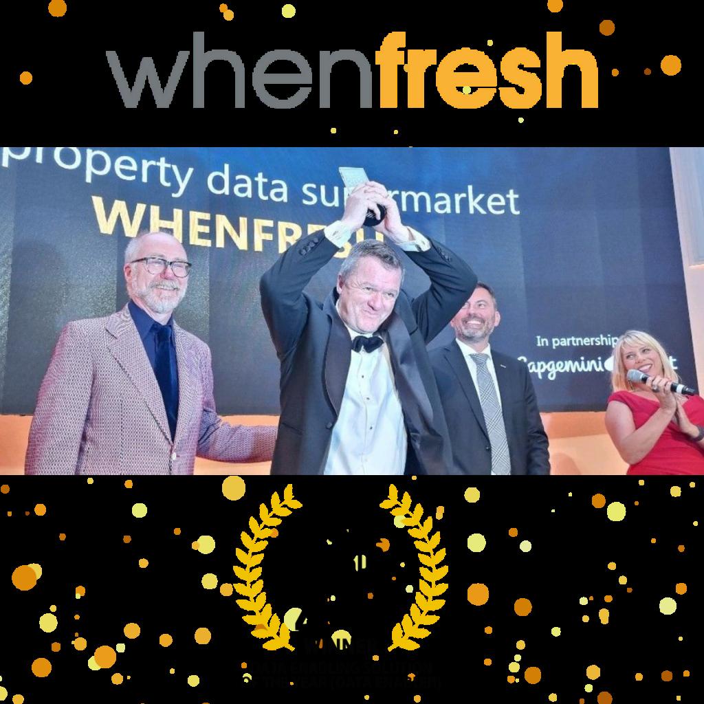 WhenFresh win DataIQ Awards 2021